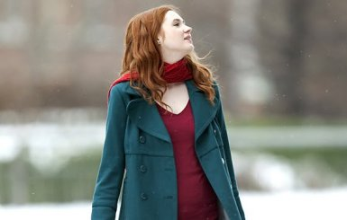 amy pond snow